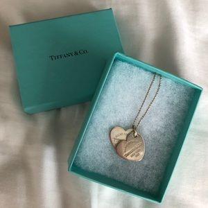 Tiffany&Co Return to Tiffany Double Heart Necklace